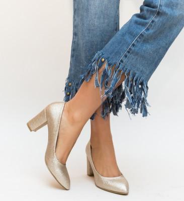 Pantofi Somera Aurii