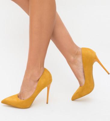 Pantofi Spiro Galbeni