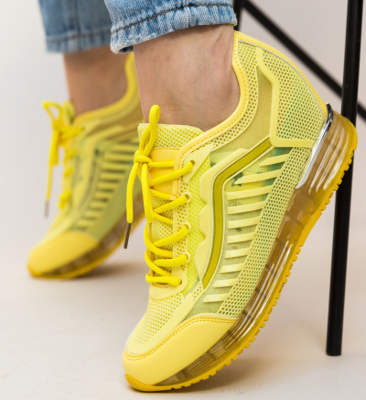 Pantofi Sport Amara Galbeni