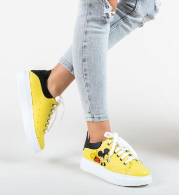 Pantofi Sport Arli Galbeni