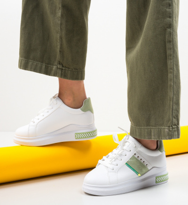 Pantofi Sport Calve Verzi