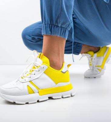 Pantofi Sport Cheri Galbeni