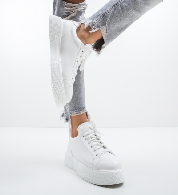 Pantofi Sport Cudya Albi