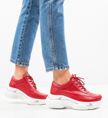 Pantofi Sport Dumini Rosii