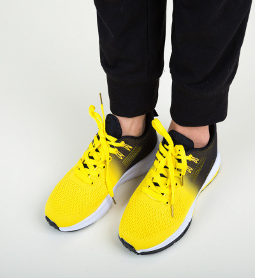 Pantofi Sport Honor Galbeni