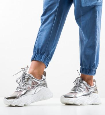 Pantofi Sport Megas Argintii