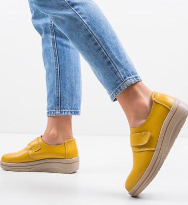 Pantofi Sport Onionte Galbeni