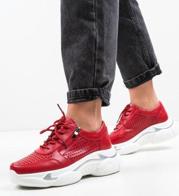 Pantofi Sport Sauco Rosii