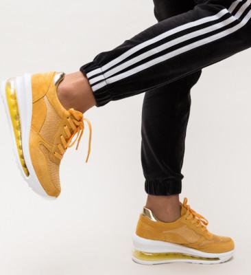 Pantofi Sport Sharmin Galbeni