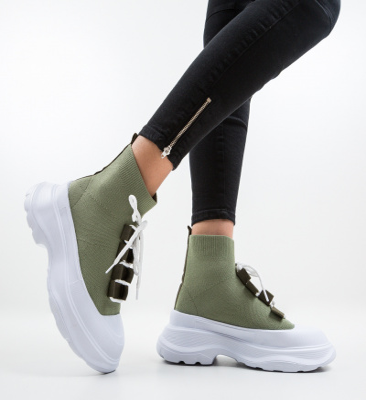 Pantofi Sport Solare Verzi