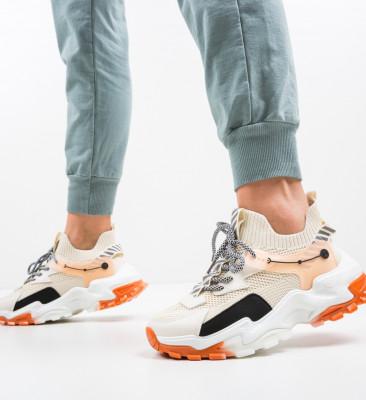 Pantofi Sport Teamy Bej