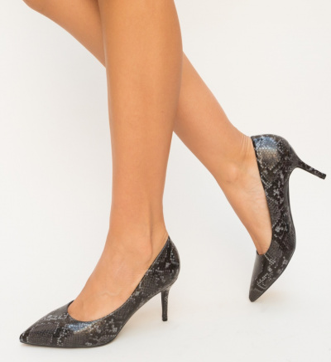 Pantofi Teono Gri