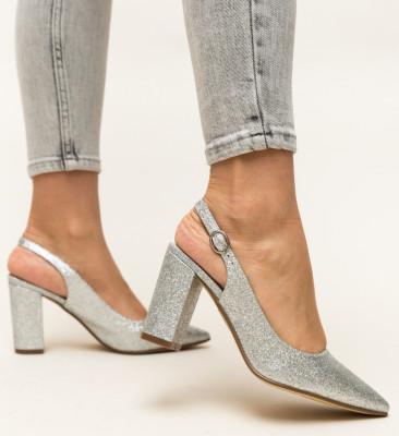 Pantofi Todd Argintii