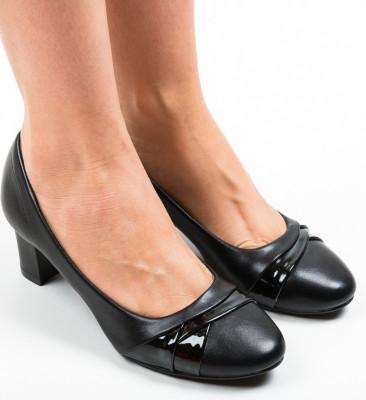 Pantofi Uleo Negri 2