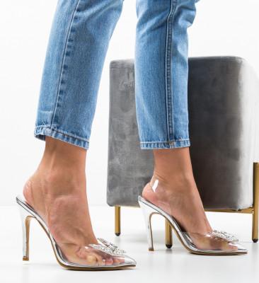 Pantofi Zeltis Argintii