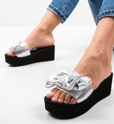 Papuci Alissi Argintii