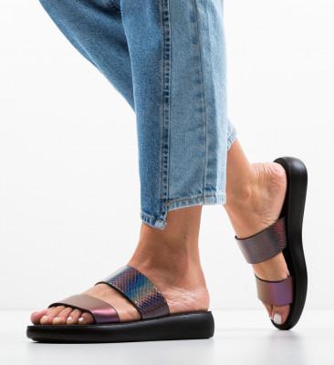 Papuci Bobena Gri