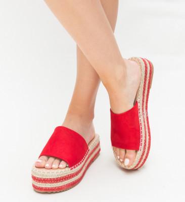 Papuci Crane Rosii