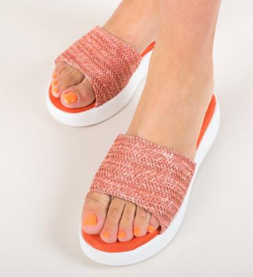 Papuci Fino Portocalii