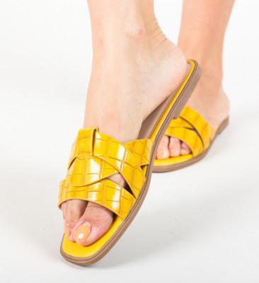 Papuci Papy Galbeni