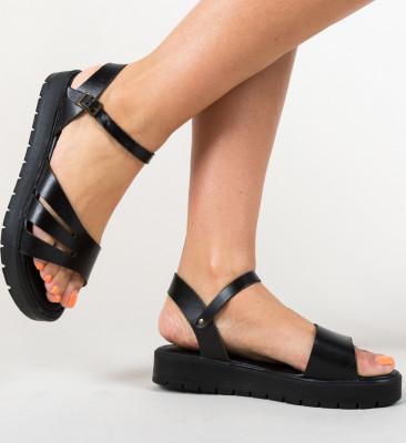 Sandale Afganis Negre