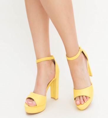 Sandale Atlo Galbene