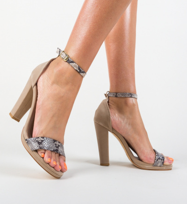 Sandale Charlotte Bej