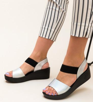 Sandale Cline Argintii 2