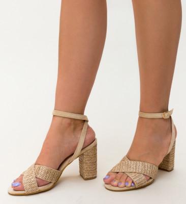 Sandale Deles Bej