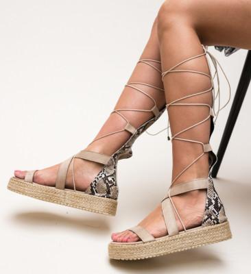 Sandale Deziren Bej