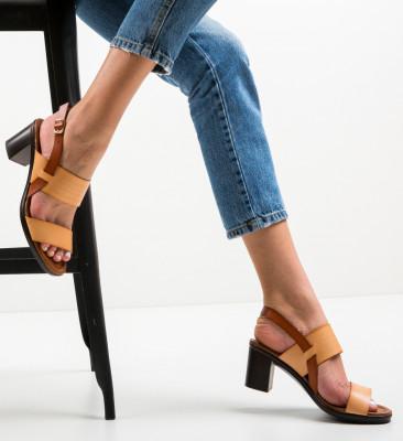 Sandale Duneza Bej