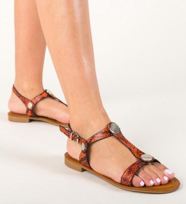 Sandale Egila Portocalii
