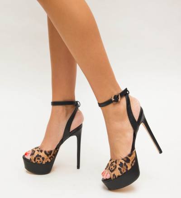 Sandale Elita Negre