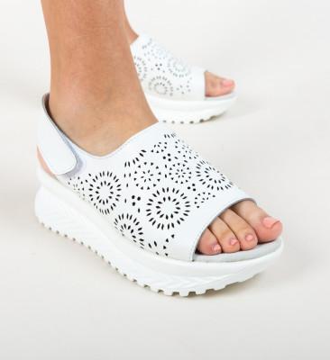 Sandale Iris Albe
