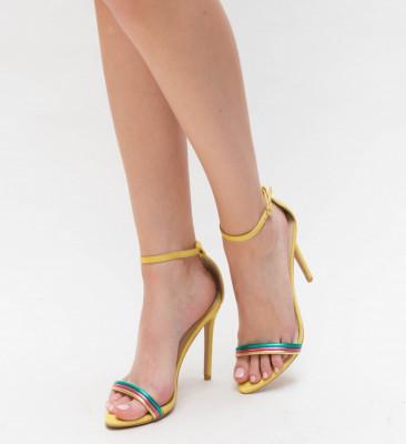 Sandale Kebec Galbene