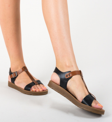 Sandale Laxor Negre
