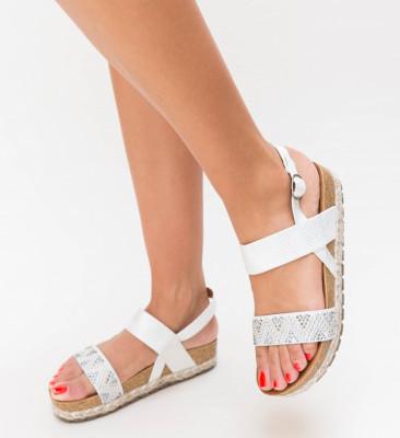 Sandale Lupau Argintii