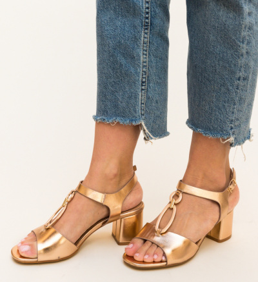 Sandale Luxinano Aurii