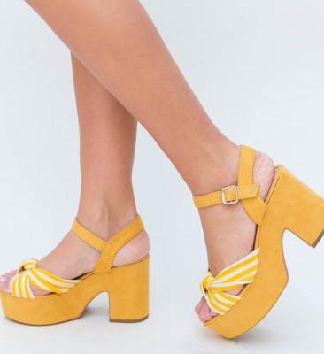 Sandale Madre Galbene