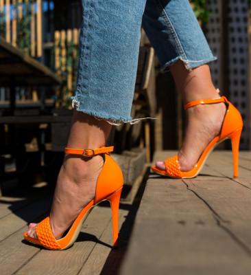 Sandale Piky Portocalii
