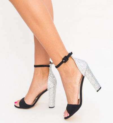 Sandale Romaniuc Argintii 2