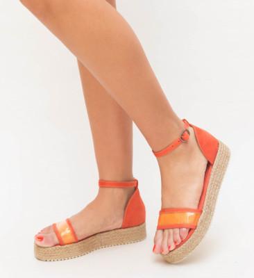 Sandale Selar Portocalii