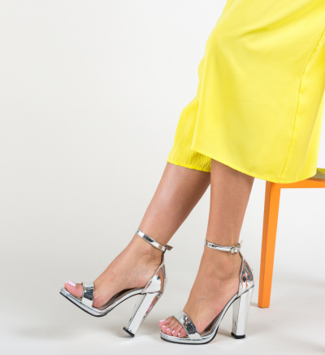 Sandale Sosko Argintii