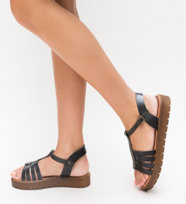 Sandale Suvio Negre
