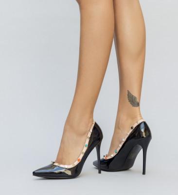 Pantofi Warmi Negri