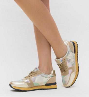 Pantofi Sport Spanish Aurii