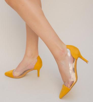 Pantofi Fento Galbeni