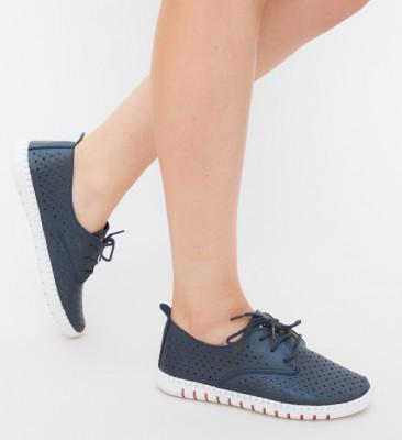Pantofi Casual Hilio Bleumarin