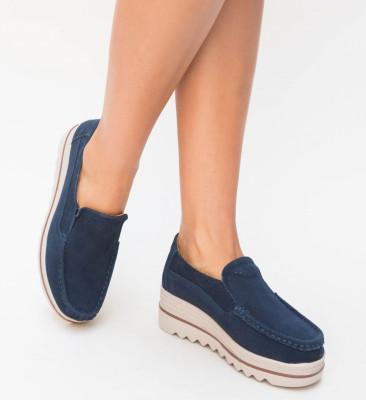 Pantofi Casual Smirno Bleumarin