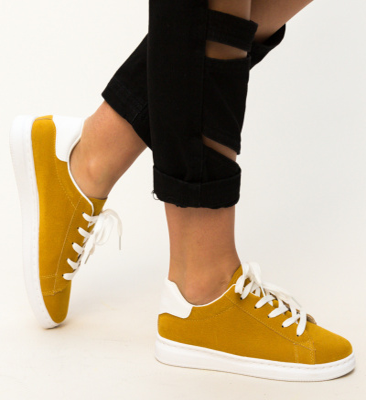 Pantofi Sport Lupau Galbeni